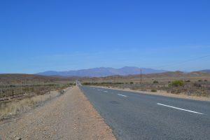 Zeer uitgestrekt landschap van de Kleine Karoo