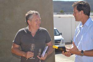 De jonge Joubert is een gepassioneerd wijnmaker!