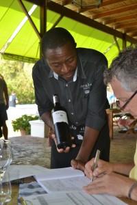 Bij Dornier bleven we lunchen met aangepaste wijnen!