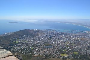 Kaapstad, Robbeneiland, de voetbalarena vanop Table Mountain…